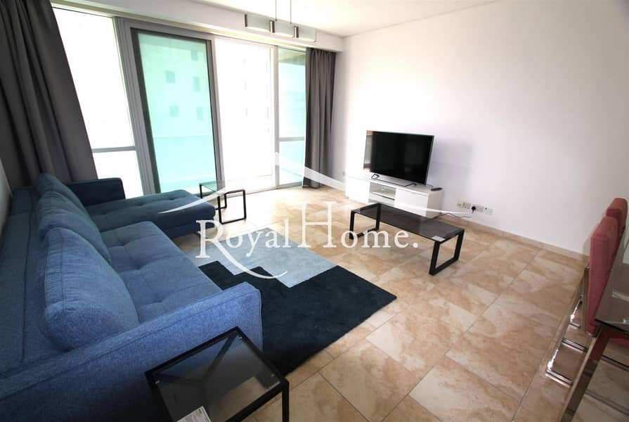 2 AC FREE 2BR | Marina and Sea view | New furniture