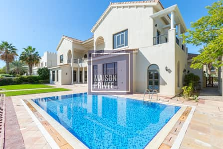 6 Bedroom Villa for Rent in Palm Jumeirah, Dubai - Private Beach & Pool   All Bills Included