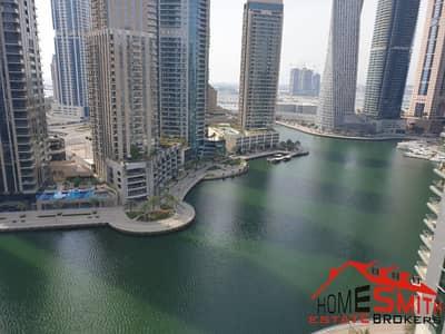 3 Bedroom Apartment for Rent in Dubai Marina, Dubai - Full Marina View Middle Floor Close To Metro