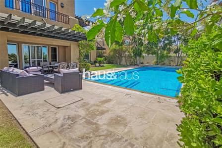فیلا 5 غرف نوم للايجار في المرابع العربية، دبي - Golf course view | Pool | Beautiful 5 bed villa