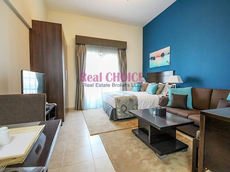 2 Affordable Fully Furnished Studio Apartment