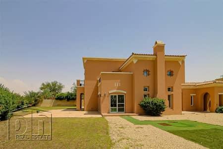 فیلا 5 غرف نوم للايجار في المرابع العربية، دبي - Stunning Type 17 - Huge Plot - Golf Course View