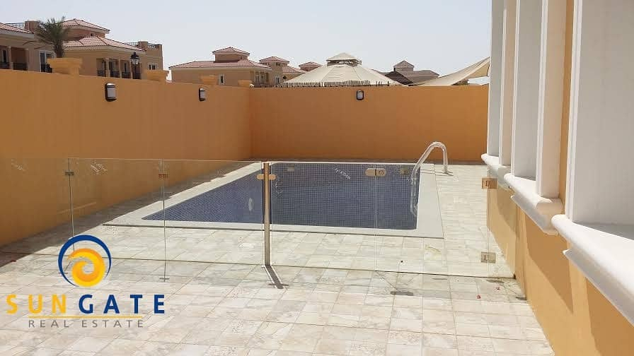 2 independent villa with pool in dubailand