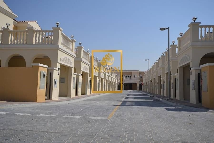 One Bedroom Hall Townhouse For RENT in District 12 of JVC - Single Row Unit