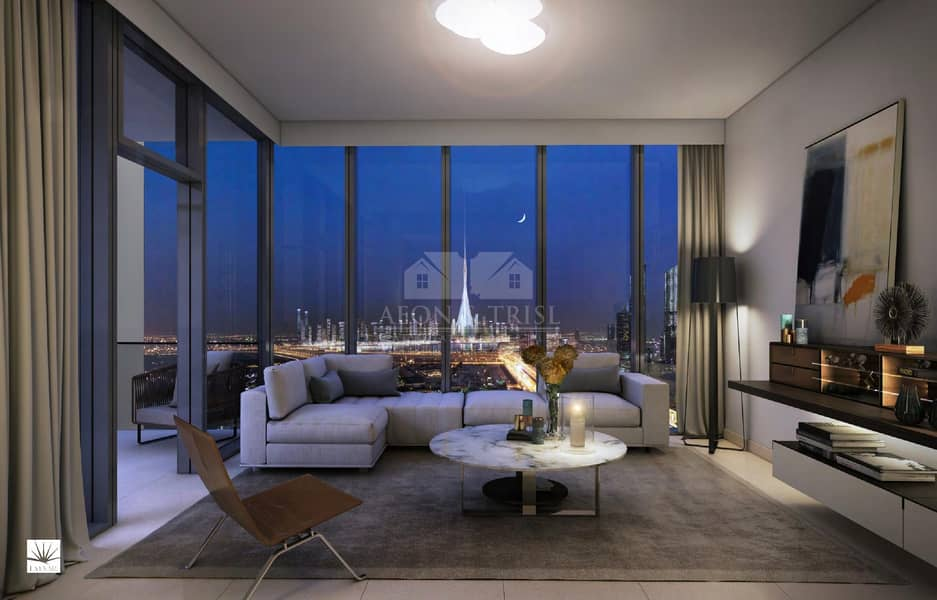 Full Panoramic View of Downtown | 3 Bed Apartment