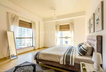 شقة 2 غرفة نوم للايجار في جميرا بيتش ريزيدنس، دبي - Fully furnished | Marina View| Bright Flat