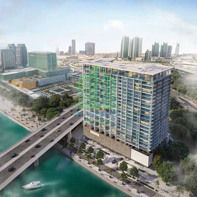 فلیٹ 1 غرفة نوم للبيع في جزيرة المارية، أبوظبي - The building features an innovative design with a unique look that is unrivalled in Abu Dhabi.