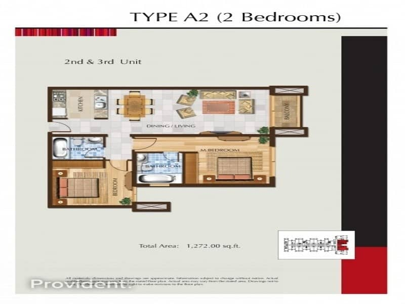 17 Extra Large 2 BHK | Sun-drenched | Prime Location