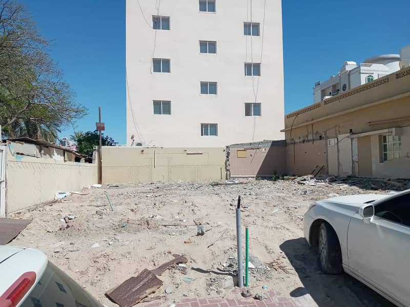 Exclusive for sale plot of land in Al Nuaimia, a very special site, freehold for all nationalities