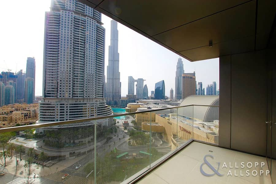 Boulevard Point | Two Bedroom | Burj View