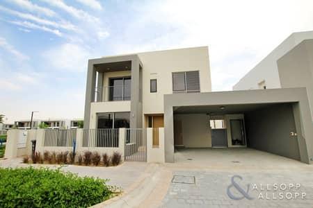 4 Bedroom Villa for Sale in Dubai Hills Estate, Dubai - 4 Beds | Corner Plot  | Close To Entrance