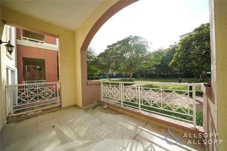 شقة 1 غرفة نوم للايجار في جرين كوميونيتي، دبي - Ground Floor | Largest 1 Bed | Move Now