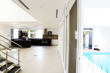 5 Bedroom Villa for Rent in Jumeirah, Dubai - CONTEMPORARY 5BR WITH PRIVATE POOL | GARDEN