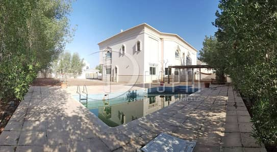 6 Bedroom Villa for Rent in Khalifa City A, Abu Dhabi - Stand Alone 6 beds + Swimming pool & Driver 270k!