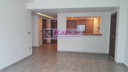 فلیٹ 2 غرفة نوم للايجار في نخلة جميرا، دبي - Palm Jumeirah Marina Residences - 2 b/r | direct pool and park view.