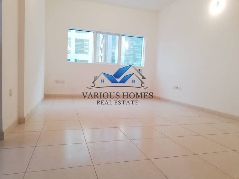 Nice View 01 BHK with Balcony at Al Nahyan Mamoura for 47-k