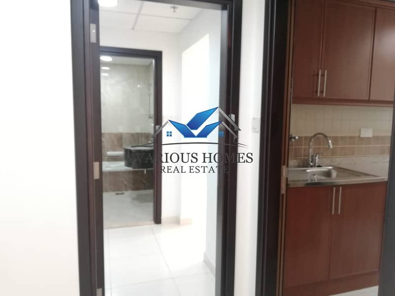 11 Nice View 01 BHK with Balcony at Al Nahyan Mamoura for 47-k
