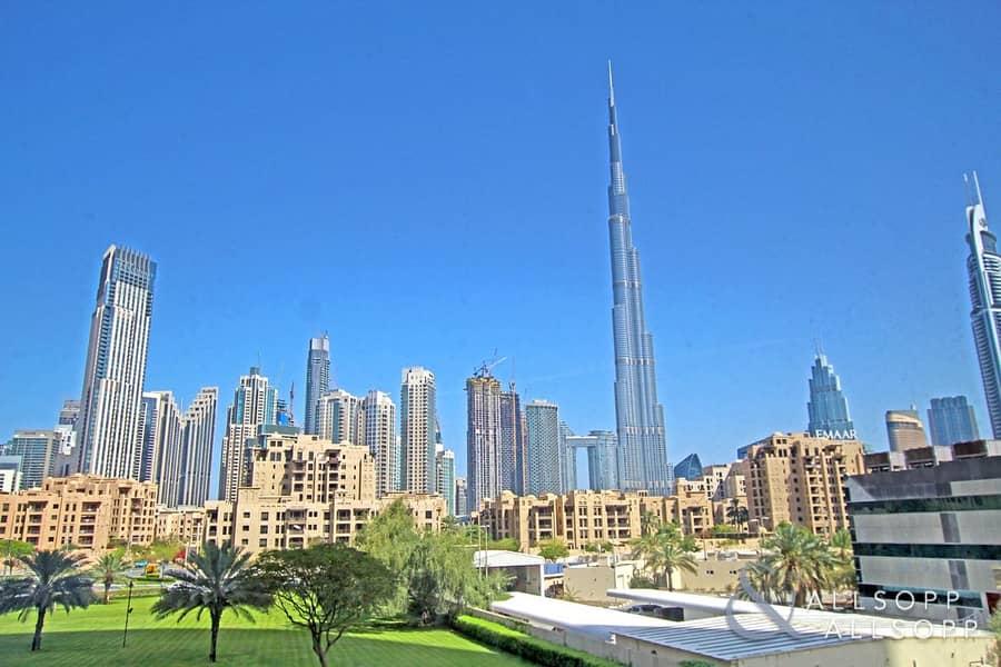 2 Three Bedroom | Burj Khalifa View | Maids
