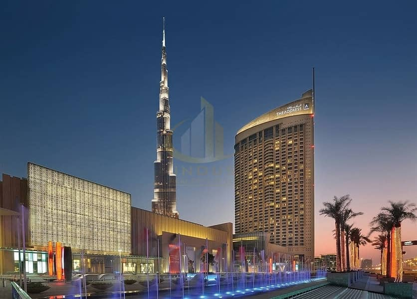 Fully Furnished | Studio in Address Dubai Mall | For Rent @ 80