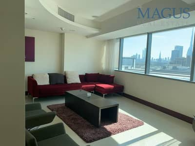 1 Bedroom Apartment for Rent in World Trade Centre, Dubai - Duplex| Fully furnished| all inclusive 1 br apartment
