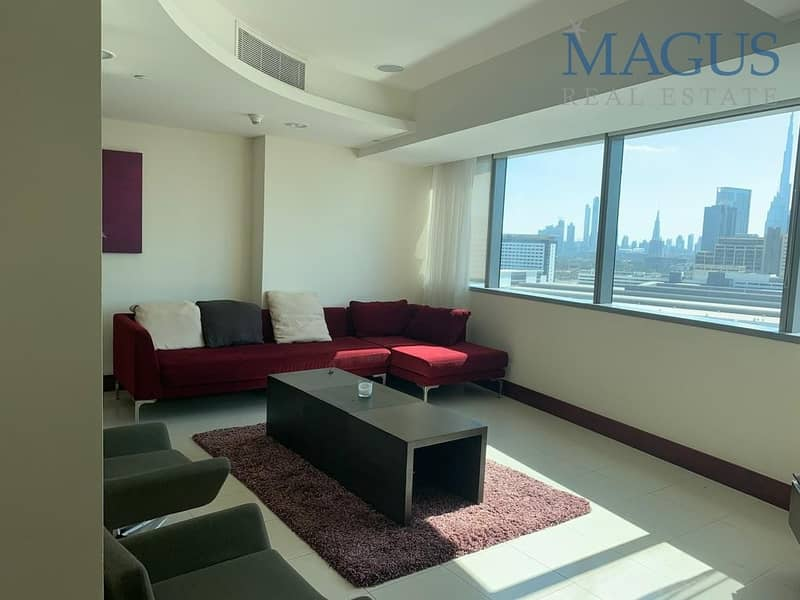 Duplex| Fully furnished| all inclusive 1 br apartment