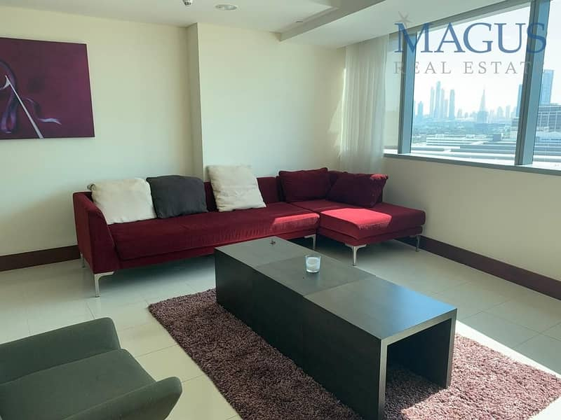 2 Duplex| Fully furnished| all inclusive 1 br apartment