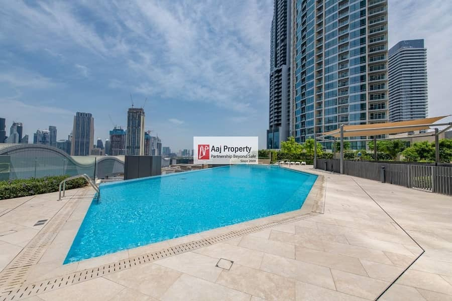 11 fantastic 2BR with iconic burj and fountain view & Entire Dubai Skyline ! Never see before