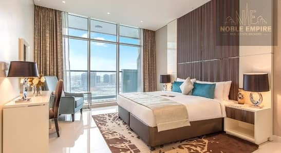 Hotel Apartment for Rent in Business Bay, Dubai - Fully Furnished  Hotel Studio Apartment  Bays Edge