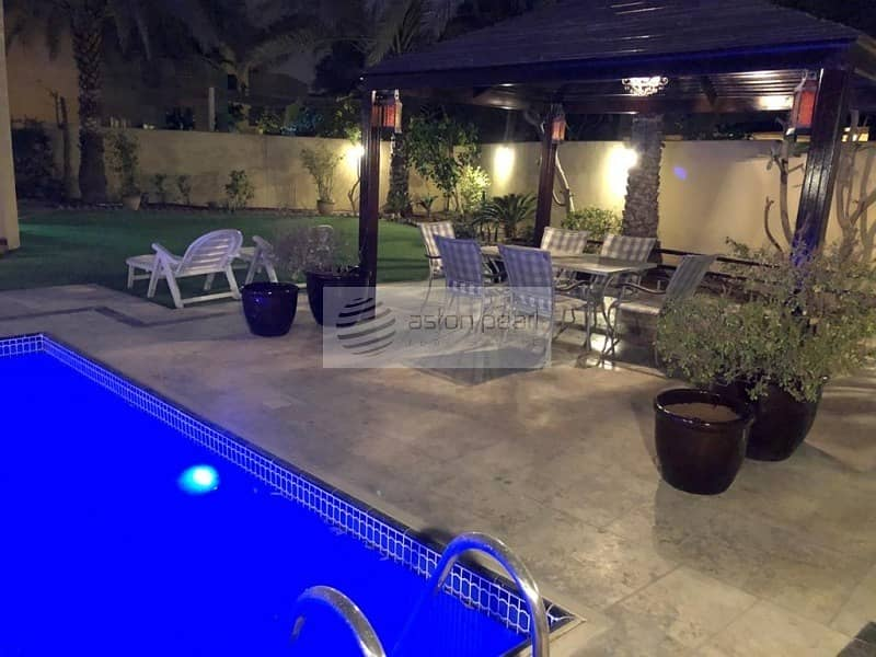 Furnished 4BR with Swimming Pool | Vacant on July