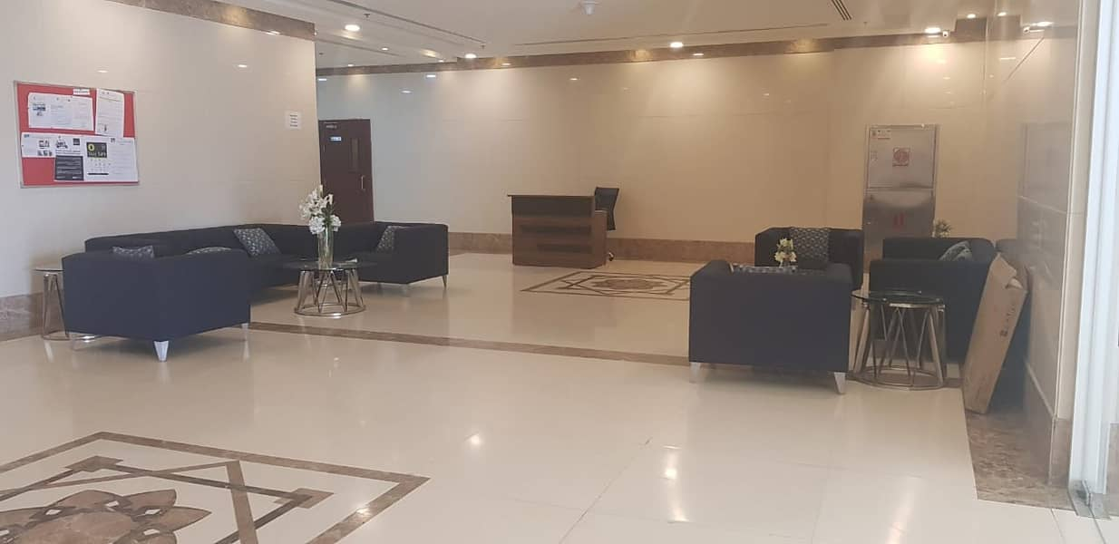 Nice Studio Flat with Pakring in Orient Towers near Ajman Bus Station