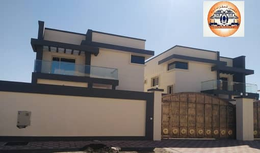 5 Bedroom Villa for Sale in Al Mowaihat, Ajman - Modern villa for sale super duplex finishes - great location - with bank financing