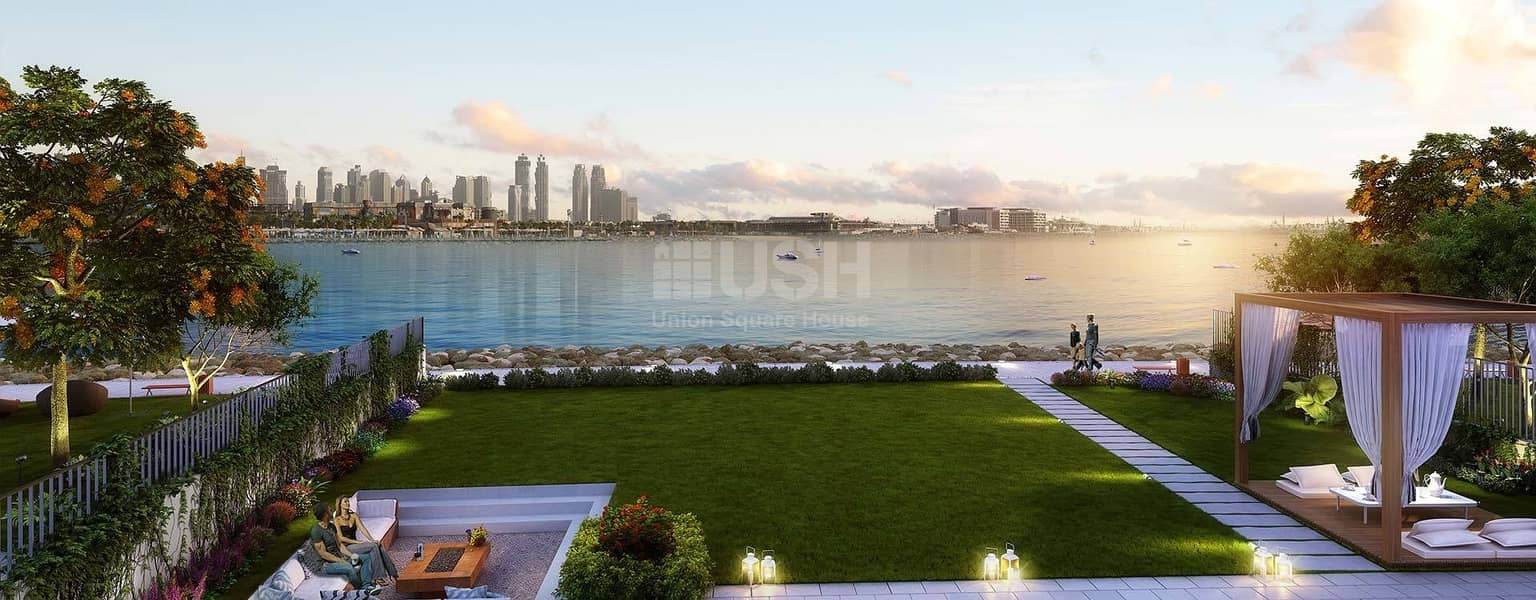 luxury freehold Beachfront villa in La mer jumeirah 1
