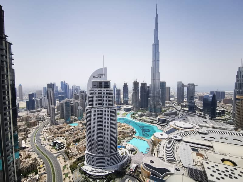 34 High Floor | Sky Collection | 4BR + Maids | Full Burj Khalifa and Fountain View