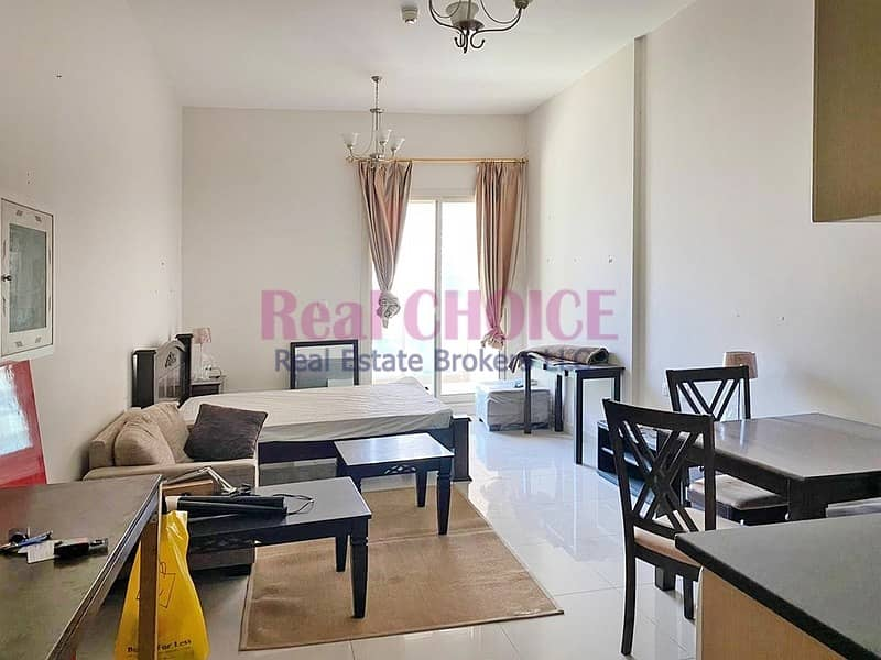 2 Furnished and Lovely Studio Apartment|Vacant Now