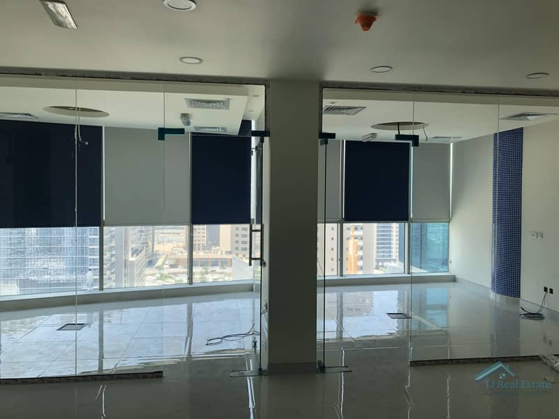 2 Brand New Fitted Office 5 Glass room|Office  pantry