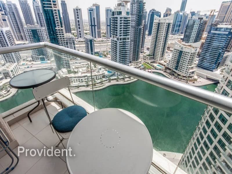 Full Furnished with Spectacular Full Marina Views