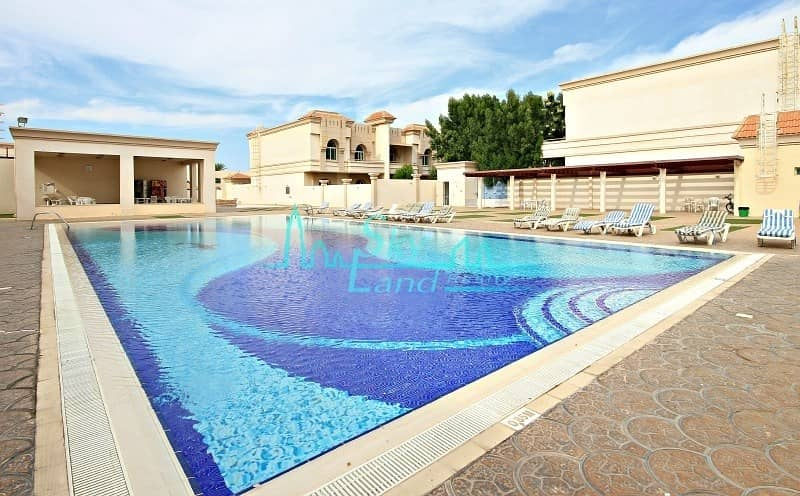 2 Renovated 4 Bed|Shared Pool|Gym|Tennis Court