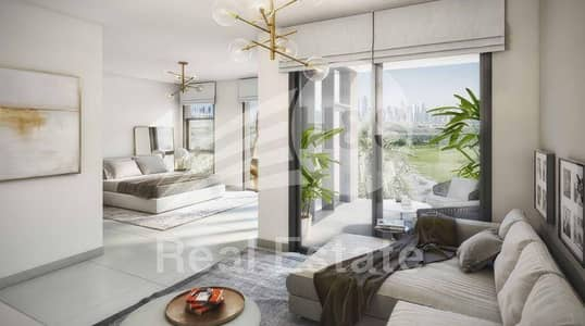 3 Bedroom Villa for Sale in Dubai Hills Estate, Dubai - 3BR+M | Genuine Resale | Downtown Skyline and Golf Course View