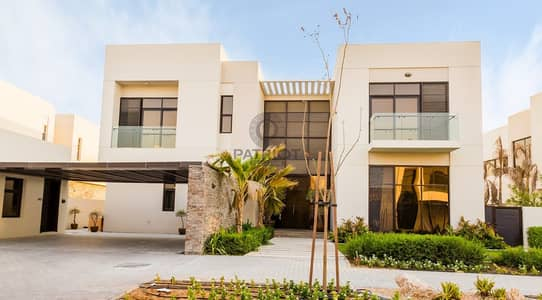 3 Bedroom Villa for Sale in DAMAC Hills (Akoya by DAMAC), Dubai - RENTED 125K IN 1 CHEQUE TYPE THK 3 BEDROOM+MAID+FAMILY AREA FOR SALE