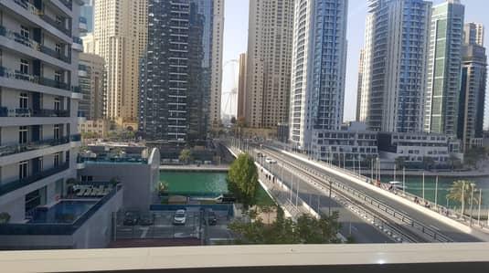 شقة 1 غرفة نوم للايجار في دبي مارينا، دبي - Hot Deal ! Large ! One Bed ! Chiller Free ! Near JBR