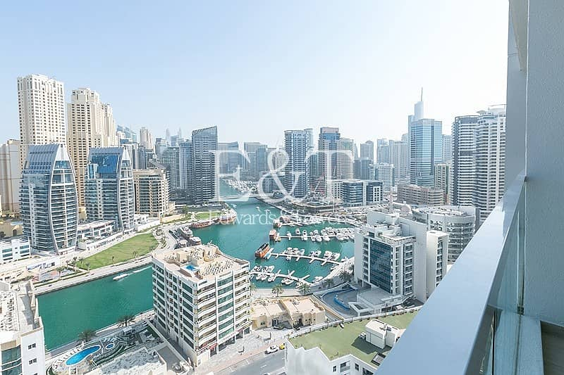 2 Full Marina View|Expensive Furniture|Chiller Free