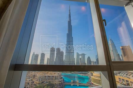 1 Bedroom Flat for Rent in Downtown Dubai, Dubai - 1BR Apartment for Rent in Burj Lake The Address
