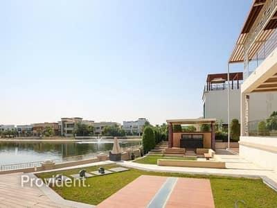 فیلا 6 غرف نوم للايجار في تلال الإمارات، دبي - High-end Fendi Designed Furnishings | Waterfront