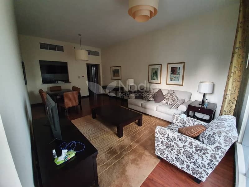 Fully Furnished 1 Bedroom | Green Lakes S3 | JLT