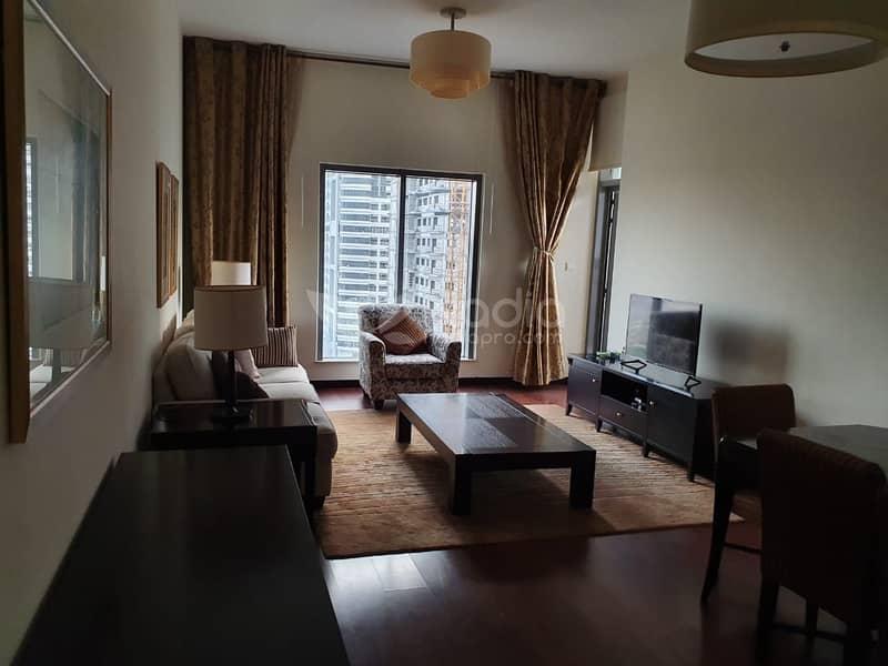 2 Fully Furnished 1 Bedroom | Green Lakes S3 | JLT