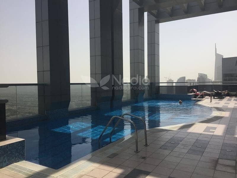 10 Fully Furnished 1 Bedroom | Green Lakes S3 | JLT