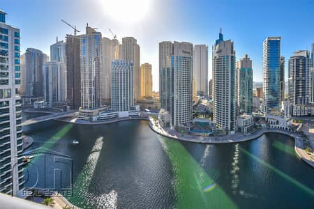 2 Bedroom Apartment for Rent in Dubai Marina, Dubai - Full Marina Views | Flexible Cheques | Unfurnished