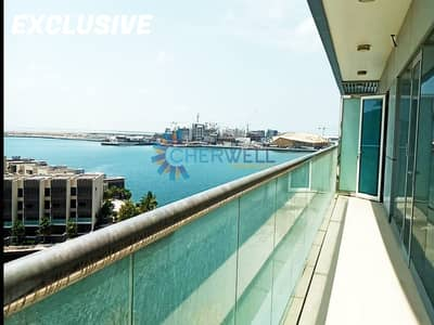 2 Bedroom Apartment for Sale in Al Raha Beach, Abu Dhabi - Exclusive | Full Sea View | Brand New Luxurious 2BR+M  Apartment