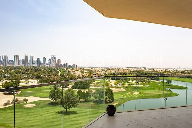 2 Full Golf Course View 3 BR Apartment