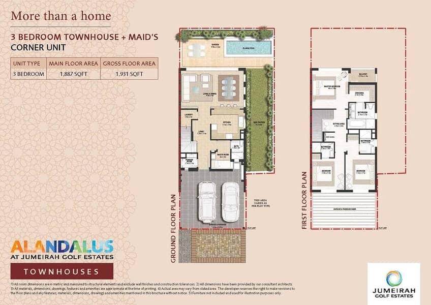 10 3 Bed | Big Corner Plot | Secondary Market